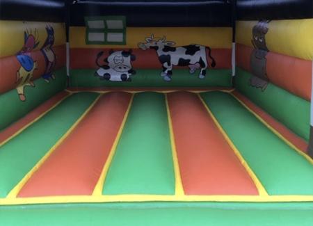 Grote koe springkussen